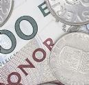 Gamla sedlar och mynt
