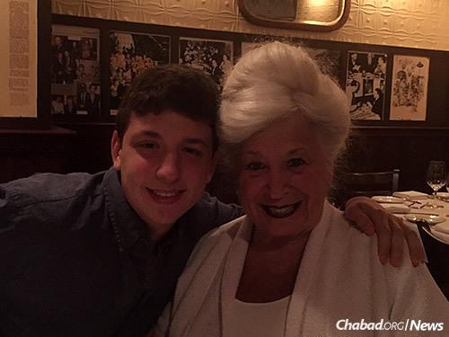 Seiff and his grandmother, Arlene Kule