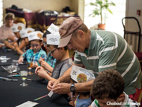 Pre-Passover activities are often an intergenerational endeavor. (Photo: Chavi Konikov)