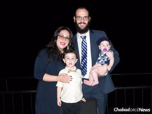 Rabbi Boruch and Chaya Rozmarin, who serve local citizens in Grenada and students at St. George University, are expecting between 250 and 300 people at their seder.