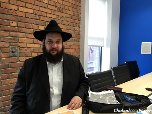 Rabbi Moshe Thaler settled in Berdichev in 2002. He and his wife, Chana, run programs for all sectors of the Jewish community there.