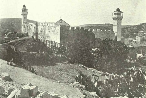 The Cave of the Patriarchs as it appeared in 1906.