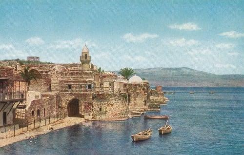 Tiberias in the 1920s.