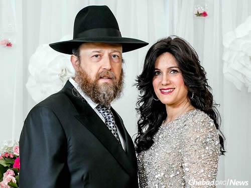 Rabbi Chaim and Rivkah Brikman