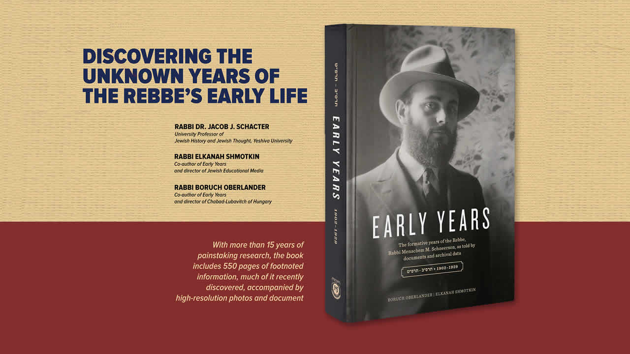 Discovering the unknown years of the rebbes early life a discovering the unknown years of the rebbes early life a conversation with the authors of early years lectures buycottarizona