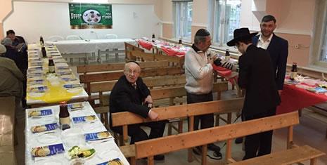 Preparing for the Seder in Izmail, Ukraine
