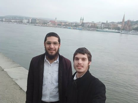 On the banks of the Danube River