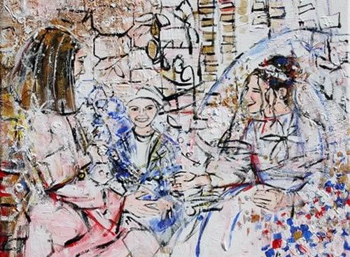 """Chassidic Wedding"" by Alyse Radenovic"