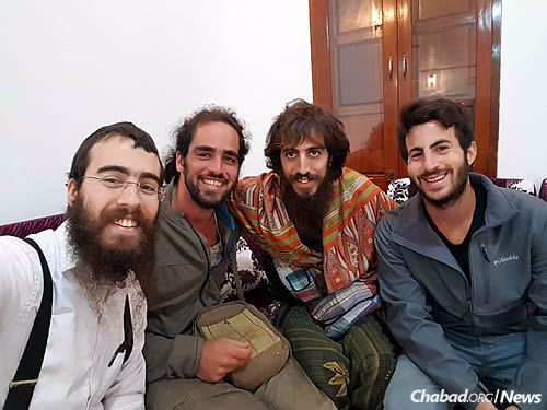 For Israelis trekking the Far East, Chabad offers a place to hang out . . . and hear Torah.
