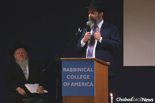 Rabbi Mendy Herson, associate dean of the college