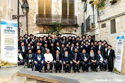 The Chabad emissaries who descended on Girona, in the northeastern Catalonia region, are often the only rabbis in their respective cities or even countries.