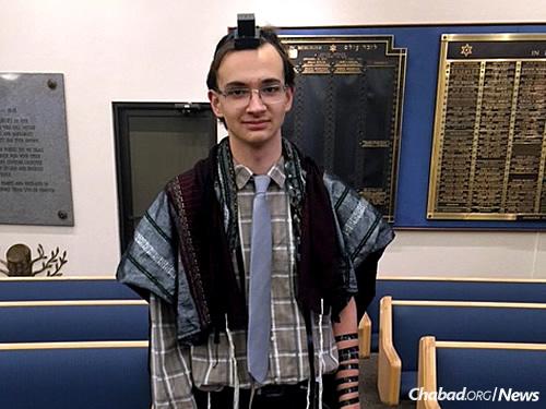Hyman Millstone's second-oldest grandchild, Ethan