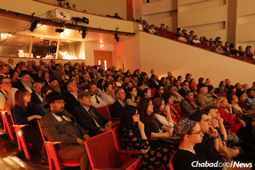 The presentation was part of Lubavitch Center of Philadelphia's annual event marking the anniversary of the Rebbe's passing on the third of Tammuz 1994.
