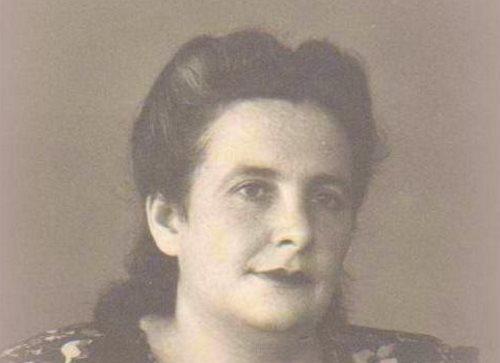 Adel Chigrinsky-Elovich, early 1950s, Ukraine. (c) The Rogatchi Archive.