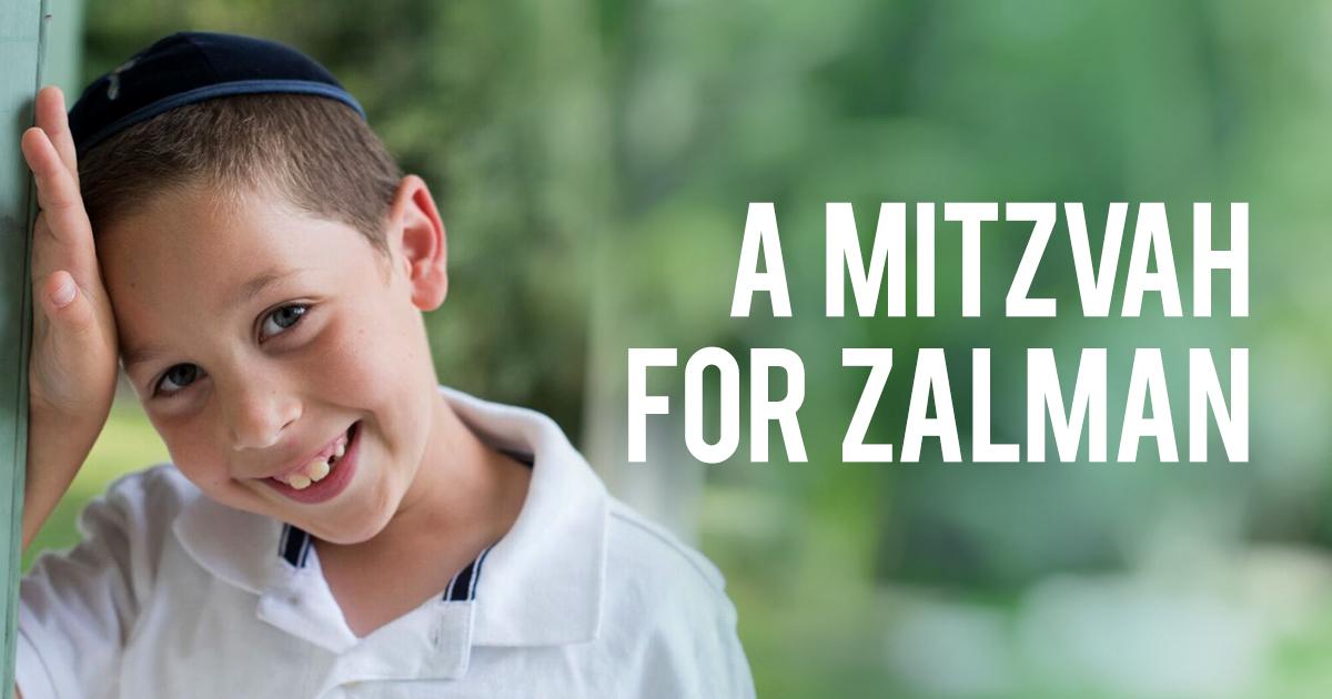 Mitzvos for Zalman - Chabad of Durham Region