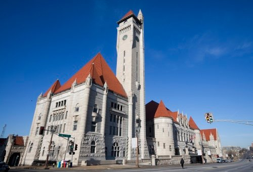 The restored St. Louis Union Station.