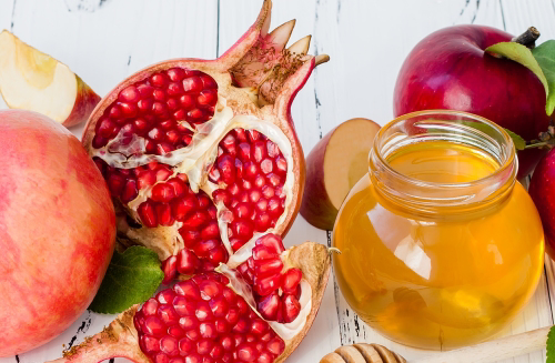 On Rosh Hashanah, we eat pomegranate to ask G-d that our merits multiply like the seeds of this delicious fruit.