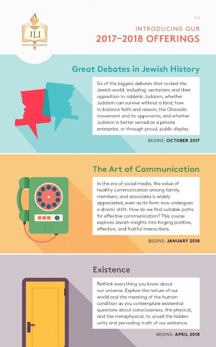 2017-18 JLI Courses