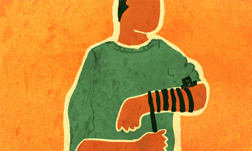 Why Do We Wrap the Tefillin Straps 7 Times Around the Arm? - Tefillin