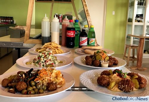 The menu offers an array of dishes and beverages. (Photo: Chabad of Jamaica)
