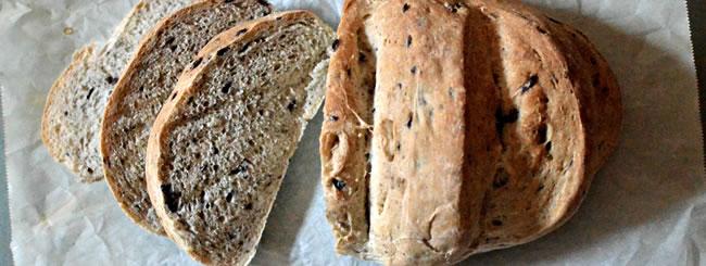 Challah & Bread: Crusty Olive Bread