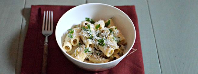 Dairy: Creamy Olive Pasta