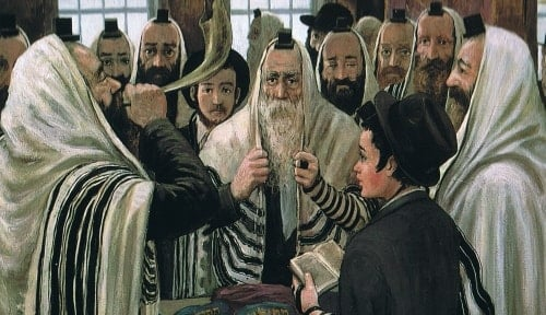 Shofar blowing during the month of Elul (Zalman Kleinman)