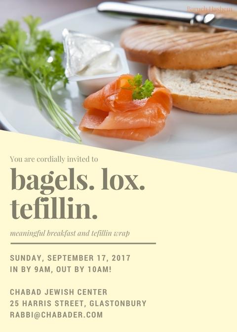 bagels lox and tefillin.jpg