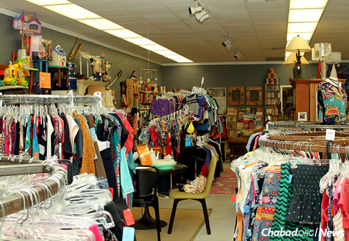 ZABS Place offers everything from clothing and toys to home goods and greeting cards. (Photo: Len Weinstein)