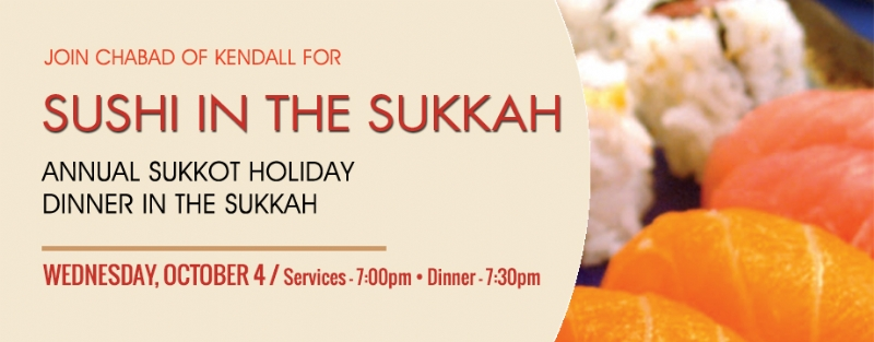 Annual Sukkot Dinner | Chabad of Kendall/Pinecrest