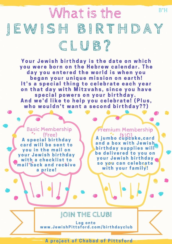 Jewish Birthday Club