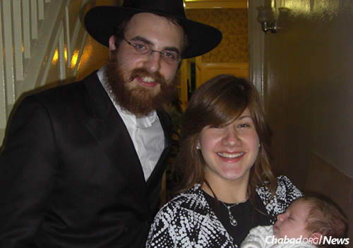 Rabbi Moishe and Sara Chanowitz