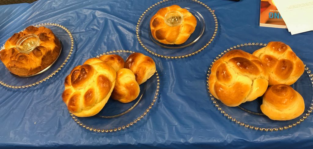 Pre Rosh Hashana Challa Bake
