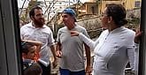 Rabbi Moishe Chanowitz, co-director of Chabad of St. Martin/St. Maarten, checks in with Jewish community members on the devastated Caribbean island. In the days since Hurricane Irma hit, he and his wife, Sara, have been reaching out to friends, neighbors and community members to account for everyone and make sure they're OK.