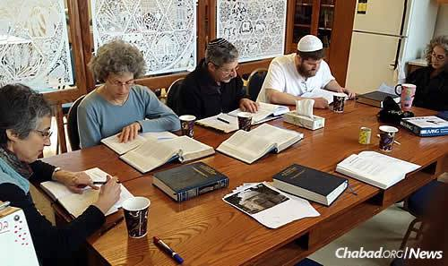A class on the weekly Torah portion
