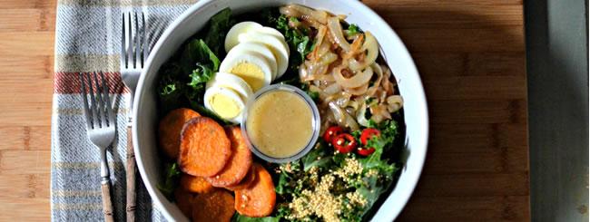 Cook It Kosher: Kale Sweet Potato Salad