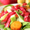 Simanim Salad for Rosh Hashanah