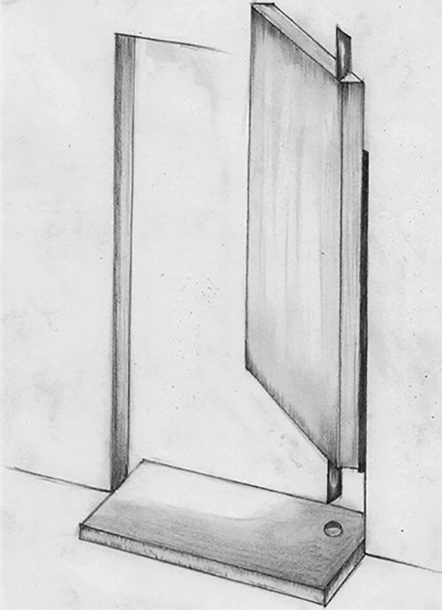 Fig. 15: A door that revolves on hinges