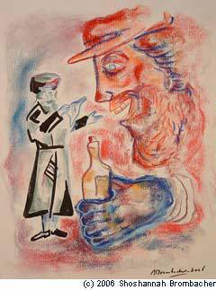 The Baal Shem Tov passed his handkerchief over the uncouth boy's face