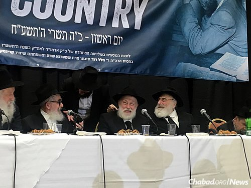 The reunion represents the first formal get-together of the group in 62 years. (Photo: Dovid Margolin)