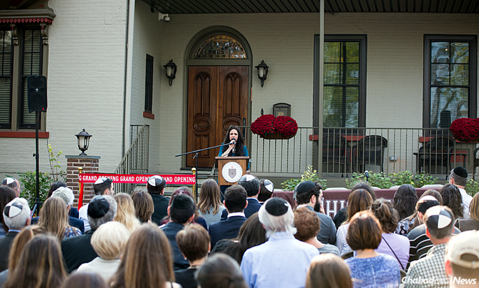 Chabad on Campus centers have been growing in leaps and bounds over the past decade, both in the increasing number of schools served and the added Jewish programs offered. In the past year, 14 new couples have started Chabad Houses, with many others, like the Rohr Chabad at Lehigh University in Pennsylvania, buying, renovating or building new facilities for use by students, faculty, community members and visitors. (Photo: Chabad at Lehigh)