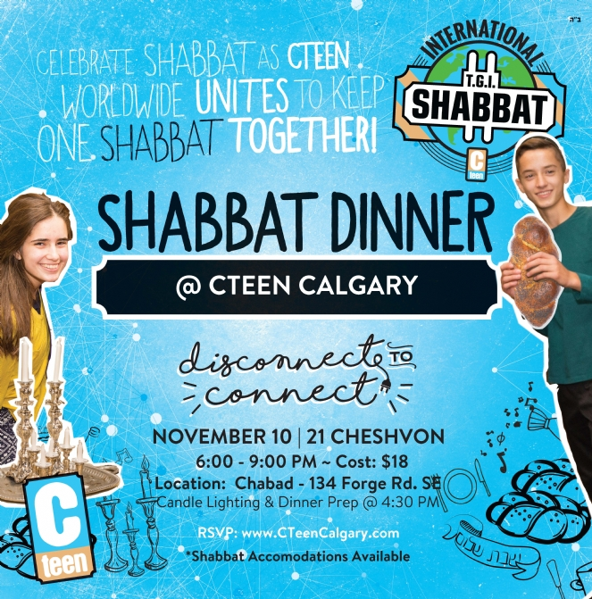 Past Events - Chabad Lubavitch of Alberta