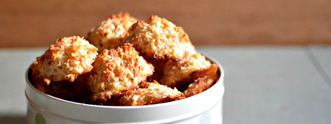 Cook It Kosher: Kosher-For-Passover Toasted Coconut Macaroons