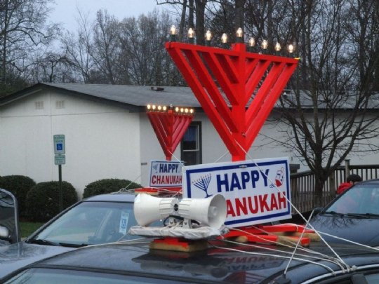 Menorah Parade