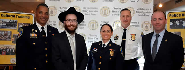 November 2017: Jewish Heroes in Uniform Honored in Baltimore