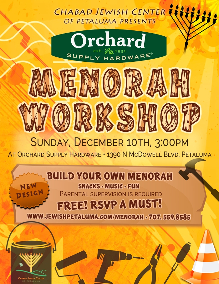 Menorah Workshop @ Orchard