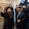 Muslim Republic President Lauds Chabad at Yeshivah Opening