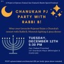 Chanuka PJ Concert with Rabbi B!
