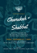CHANUKAH SHABBAT DINNER