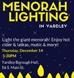 Yardley | Grand Outdoor Menorah Lighting